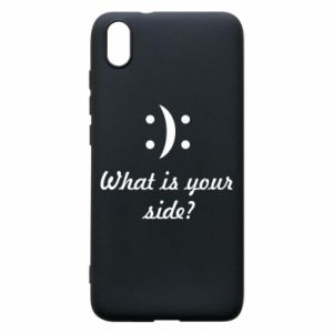 Phone case for Xiaomi Redmi 7A What is your side?