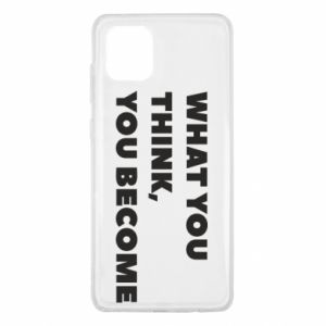 Etui na Samsung Note 10 Lite What you think you become