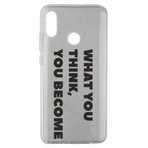Etui na Huawei Honor 10 Lite What you think you become