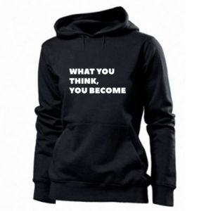 Bluza damska What you think you become