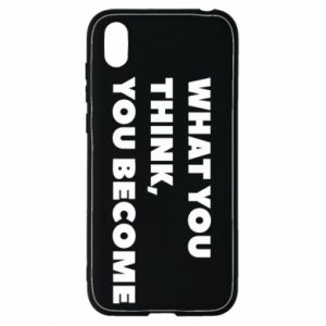 Etui na Huawei Y5 2019 What you think you become
