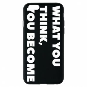 Etui na iPhone 6/6S What you think you become