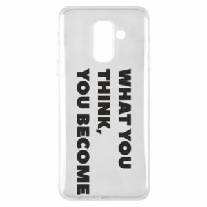 Etui na Samsung A6+ 2018 What you think you become