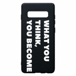 Etui na Samsung S10+ What you think you become
