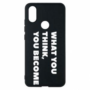 Etui na Xiaomi Mi A2 What you think you become