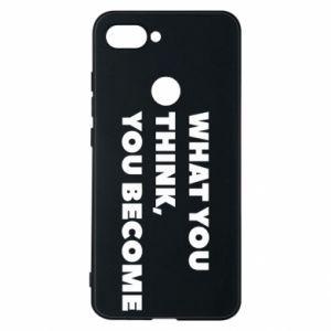 Etui na Xiaomi Mi8 Lite What you think you become
