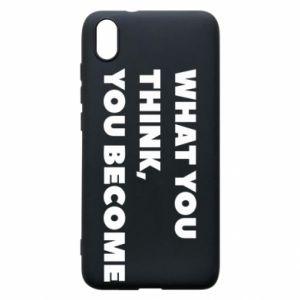 Etui na Xiaomi Redmi 7A What you think you become