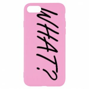 iPhone SE 2020 Case WHAT?