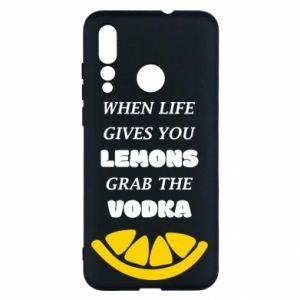 Huawei Nova 4 Case When life gives you a lemons grab the vodka