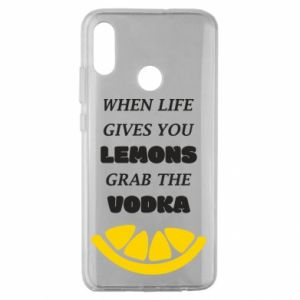 Huawei Honor 10 Lite Case When life gives you a lemons grab the vodka