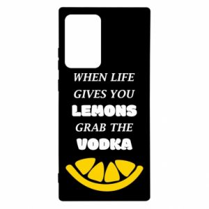 Etui na Samsung Note 20 Ultra When life gives you a lemons grab the vodka