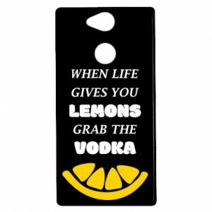 Etui na Sony Xperia XA2 When life gives you a lemons grab the vodka