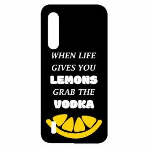 Etui na Xiaomi Mi9 Lite When life gives you a lemons grab the vodka