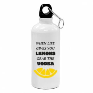 Bidon turystyczny When life gives you a lemons grab the vodka
