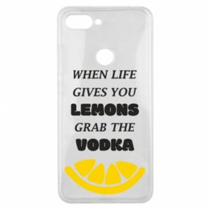 Phone case for Xiaomi Mi8 Lite When life gives you a lemons grab the vodka