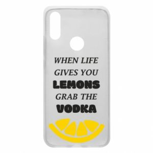 Phone case for Xiaomi Redmi 7 When life gives you a lemons grab the vodka