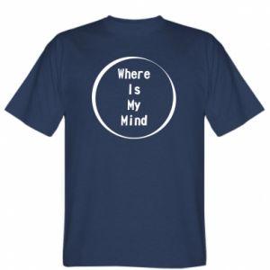 Koszulka męska Where is my mind