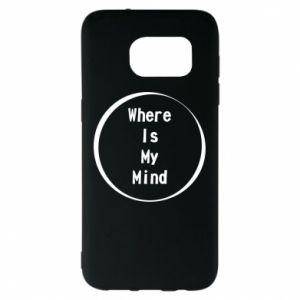 Etui na Samsung S7 EDGE Where is my mind