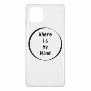 Etui na Samsung Note 10 Lite Where is my mind
