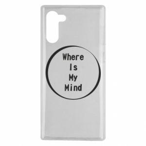 Etui na Samsung Note 10 Where is my mind
