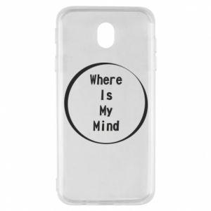 Etui na Samsung J7 2017 Where is my mind