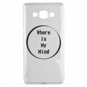 Etui na Samsung A5 2015 Where is my mind