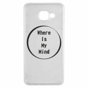 Etui na Samsung A3 2016 Where is my mind