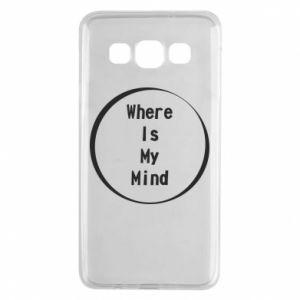 Etui na Samsung A3 2015 Where is my mind