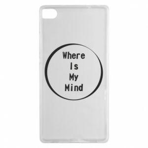 Etui na Huawei P8 Where is my mind
