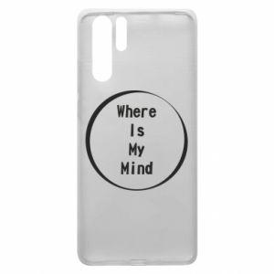 Etui na Huawei P30 Pro Where is my mind