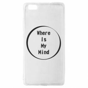 Etui na Huawei P 8 Lite Where is my mind
