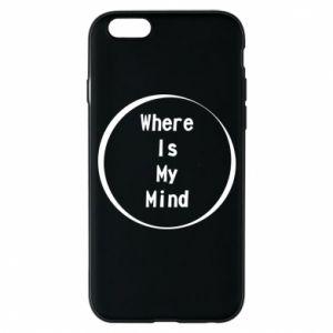 Etui na iPhone 6/6S Where is my mind