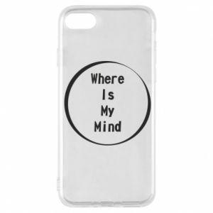 Etui na iPhone 8 Where is my mind