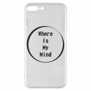 Etui na iPhone 8 Plus Where is my mind