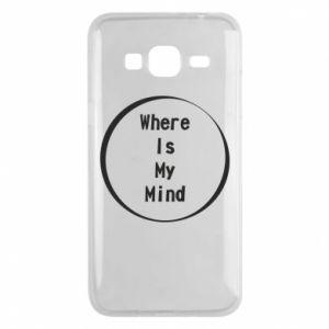 Etui na Samsung J3 2016 Where is my mind