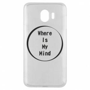 Etui na Samsung J4 Where is my mind