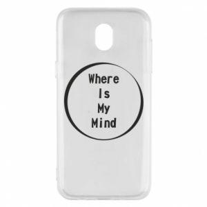Etui na Samsung J5 2017 Where is my mind
