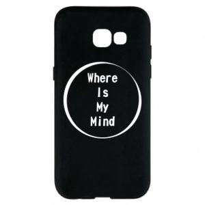 Etui na Samsung A5 2017 Where is my mind
