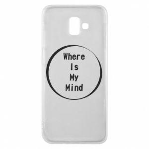 Etui na Samsung J6 Plus 2018 Where is my mind