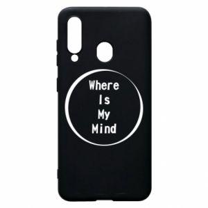 Etui na Samsung A60 Where is my mind