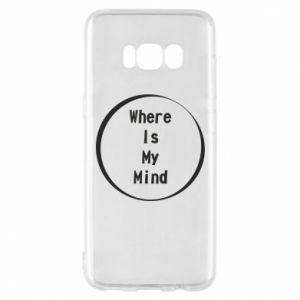 Etui na Samsung S8 Where is my mind