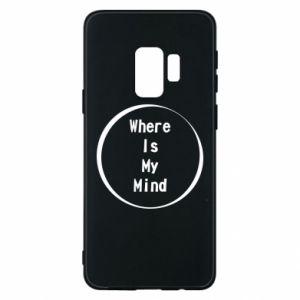 Etui na Samsung S9 Where is my mind