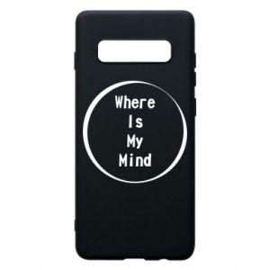 Etui na Samsung S10+ Where is my mind