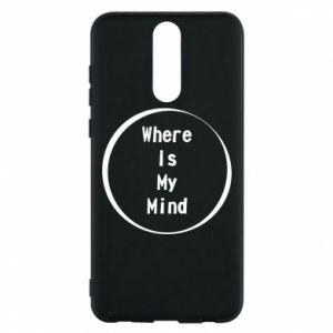 Etui na Huawei Mate 10 Lite Where is my mind