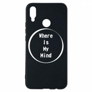 Etui na Huawei P Smart Plus Where is my mind