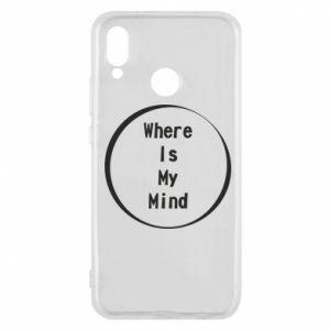 Etui na Huawei P20 Lite Where is my mind