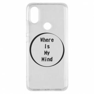 Etui na Xiaomi Mi A2 Where is my mind