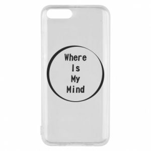 Etui na Xiaomi Mi6 Where is my mind