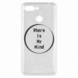 Etui na Xiaomi Redmi 6 Where is my mind