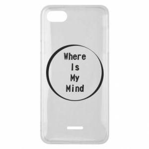 Etui na Xiaomi Redmi 6A Where is my mind